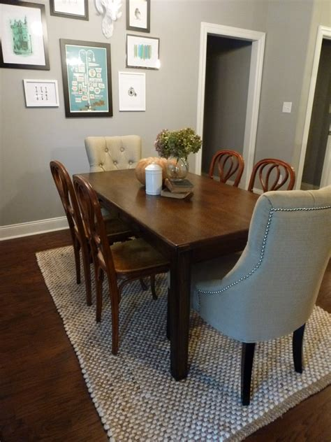 nice dining rugs  area rug  dining room table