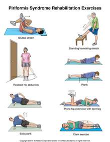 Piriformis Syndrome Exercises