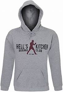 Amazon Com Hell 39 S Kitchen Boxing Club Men 39 S Hoodie Clothing