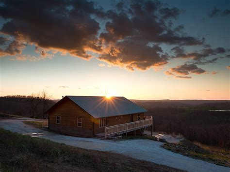 mountain sunset cabins mountain sunset cabin buffalo national river cabins and