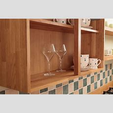 Wooden Kitchen Wall Units & Display Cabinets  Solid Wood