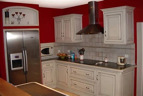 renovation meuble cuisine en chene renovation cuisine chene en gris ciabiz com