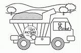 Coloring Truck Dump Funny Printables Transportation Wuppsy Trucks Printable Fire Toy Police Volvo Tow Tractor Cars Ausmalbilder Garbage Feuerwehr Trash sketch template