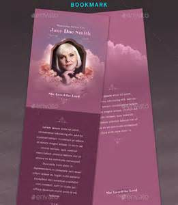 Download Free Funeral Bookmark Template