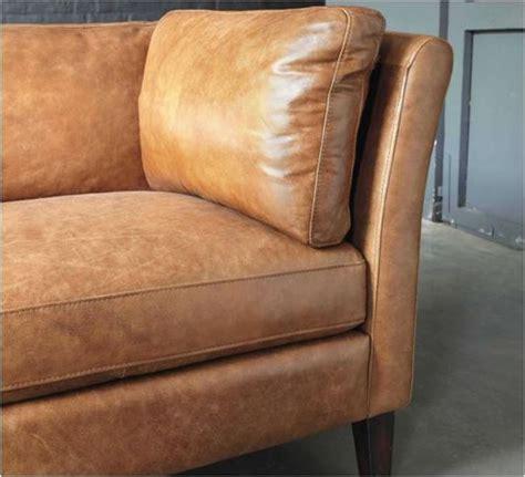maison du monde canapé cuir decoration com canap en cuir camel 3 places effet vintage