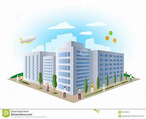 Urban Landscape Building, Vector Stock Vector - Image ...