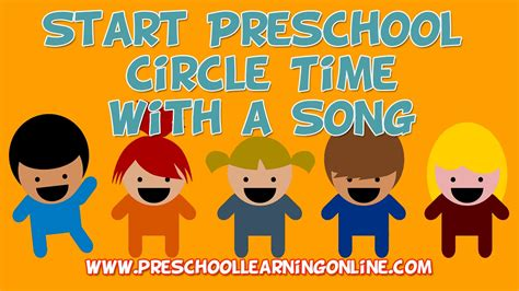 pre k circle time how to start circle time with a song 952 | maxresdefault