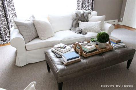 ikea ektorp sectional how we supersized our ikea ektorp sofa driven by decor