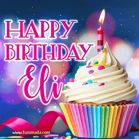 happy birthday eli lovely animated gif