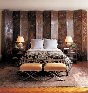Designer Divider 23 Ideas To Use Room Dividers As Headboards Shelterness