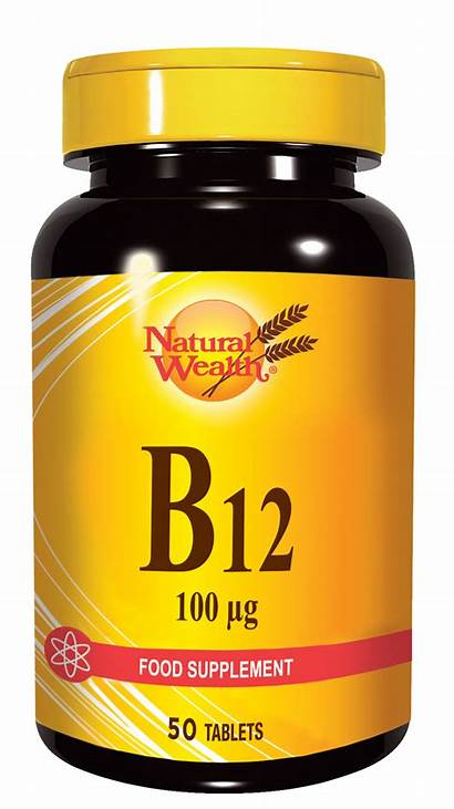 B12 Vitamin Mcg Natural Wealth Tablet Sanolabor