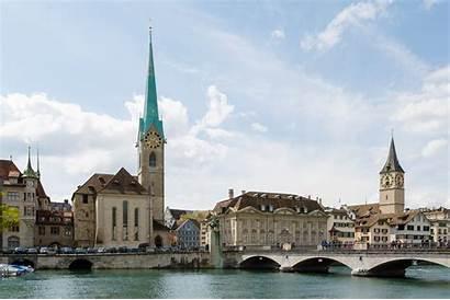 Switzerland Zurich Zurigo Europe Central Places Fraumuenster