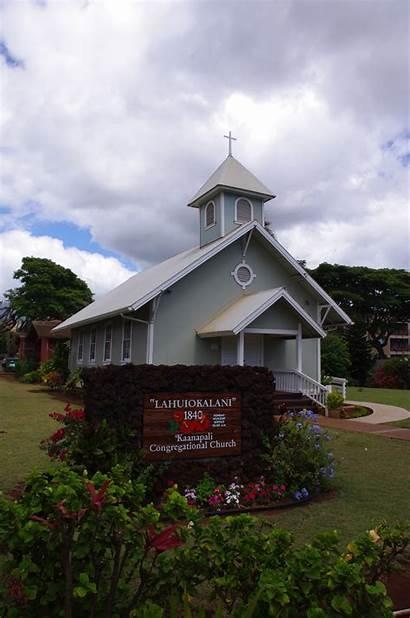 Maui Church Kaanapali Churches Congregational Beach Hawaii
