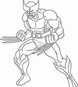Superhero Coloring Pages sketch template