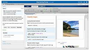 Deep Learning Designer Matlab Getting Started With Deep Learning Toolbox Mathworks