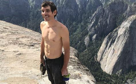 Free Solo Subject Alex Honnold Climbing Capitan