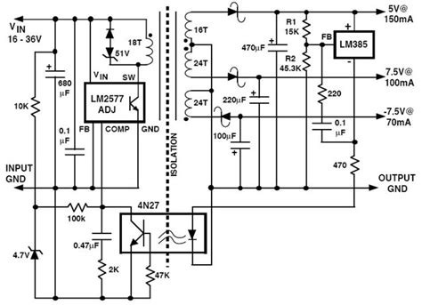 How Test Flyback Transformer Electronic Circuit