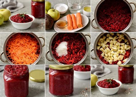 Biešu salāti ar burkāniem un āboliem ziemai - Laiki mainās!