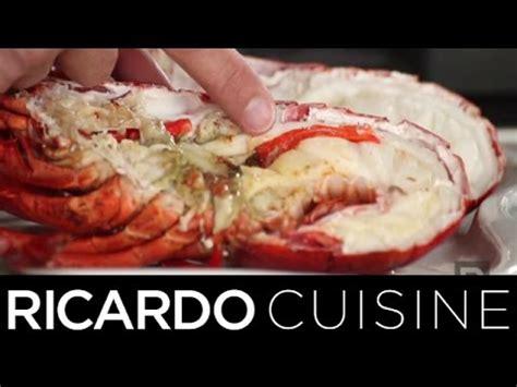 ricardo cuisine concours homard différencier les mâles des femelles ricardo