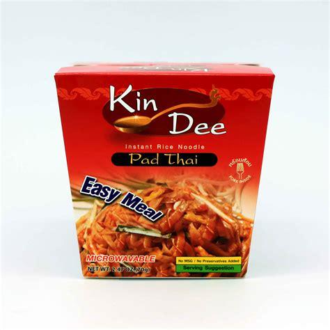 instant cuisine kin instant rice noodle pad flavor