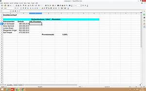 0 Stellen Berechnen : open office provisionen berechnen formel openoffice prozent ~ Themetempest.com Abrechnung