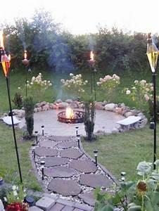 die besten 25 feuerstelle garten ideen auf pinterest With feuerstelle garten mit katzennetz balkon befestigen anleitung