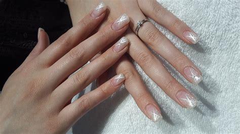 ongles semi permanent strass