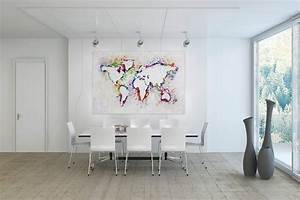 Gemälde Für Wohnzimmer : bild wohnzimmer bunt raum und m beldesign inspiration ~ Markanthonyermac.com Haus und Dekorationen