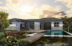 Plan De Maison D Architecte : maison architecte plain pied zx88 jornalagora ~ Melissatoandfro.com Idées de Décoration