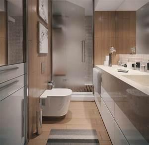 Contemporary apartment bathroom interior design ideas for Apartment bathroom designs