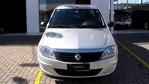Renault Logan Authentique 1 0 16v  Flex  - 2012