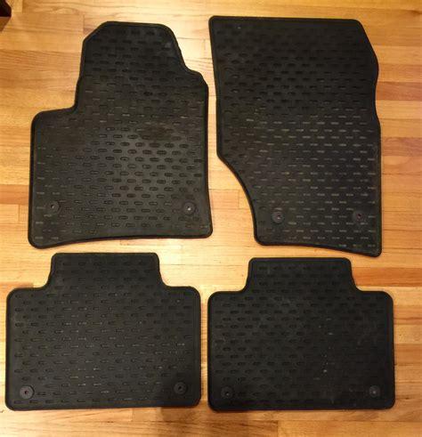 2008 porsche cayenne floor mats fs oem porsche cayenne rubber floor mats rennlist