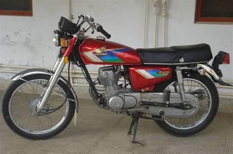 Honda Cg 125 Cdi 1992 Model