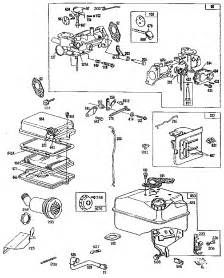 5 HP Briggs and Stratton Parts Diagram