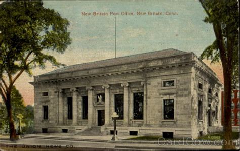 New Britain Post Office Connecticut