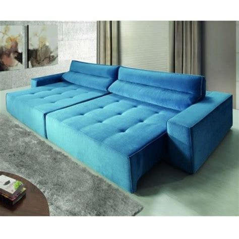 sala sofa cinza e poltrona azul 45 salas sof 225 azul os modelos mais lindos como