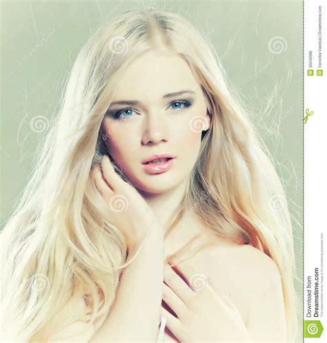 Beautiful Girl Stock Photo Image Of Glamour Caucasian