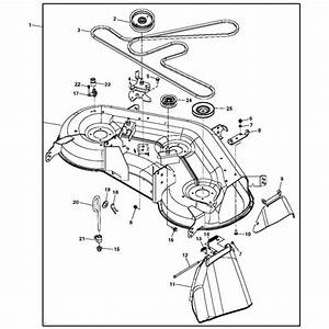 John Deere Mower Deck Parts