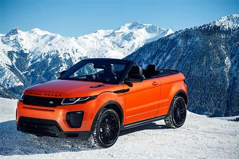 Land Rover Range Rover Evoque Convertible Specs 2018