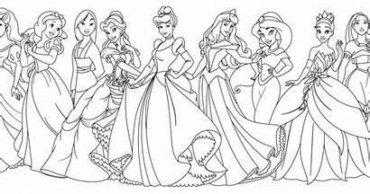 Disney Princess Coloring Pages Brave Merida Colors
