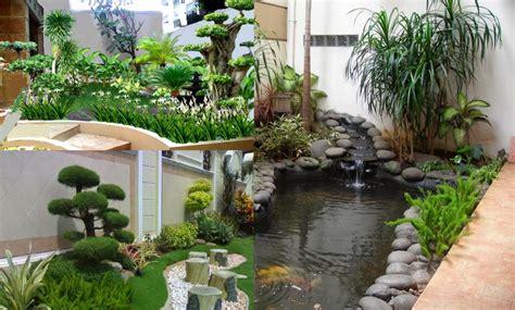 desain taman belakang  rumah minimalis creo house