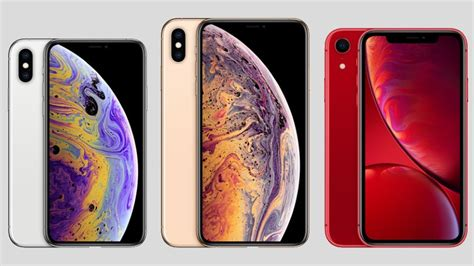 apple iphone xs xs max vs xr which new iphone is best