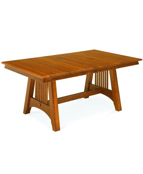 hartford mission dining table amish direct furniture