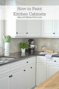 how to paint kitchen cabinets 2174