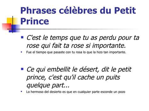 resume du petit prince