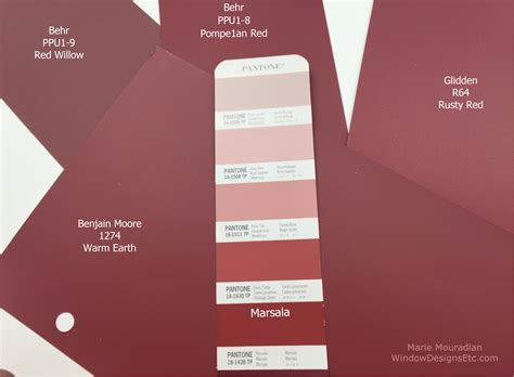 paint companies marsala pantone 2015 color of the year in interior design