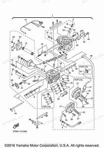 Yamaha Motorcycle 2005 Oem Parts Diagram For Carburetor