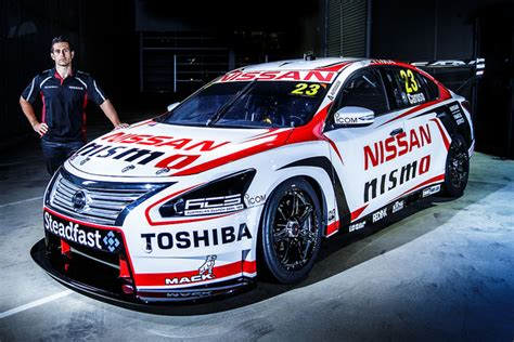 caruso adopts factory nissan number for v8s speedcafe