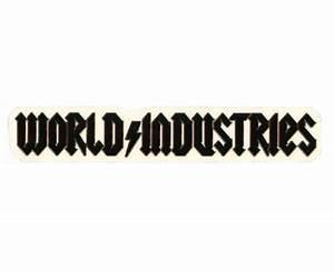 WORLD INDUSTRIES AT EXOSHOP Stickers World Industries