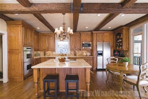 faux wood beams  custom sizes   perfect fit